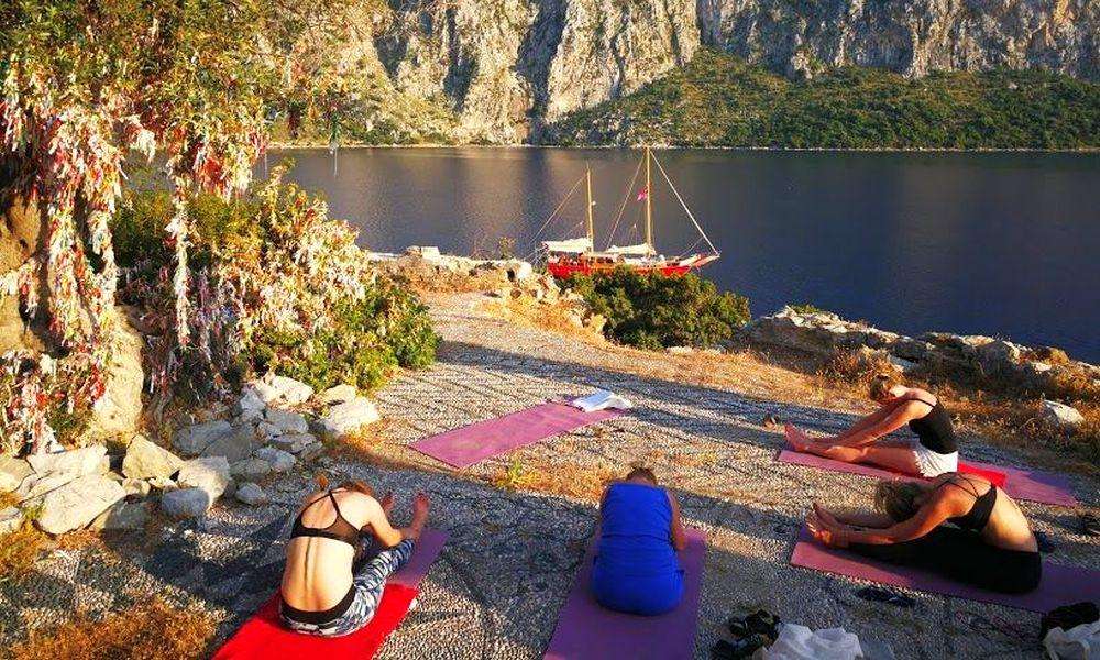 Yoga reizen in Griekenland