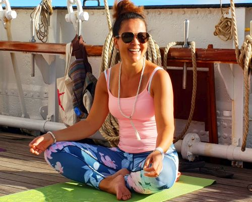 Yogavakantie in Griekenland op een zeilschip