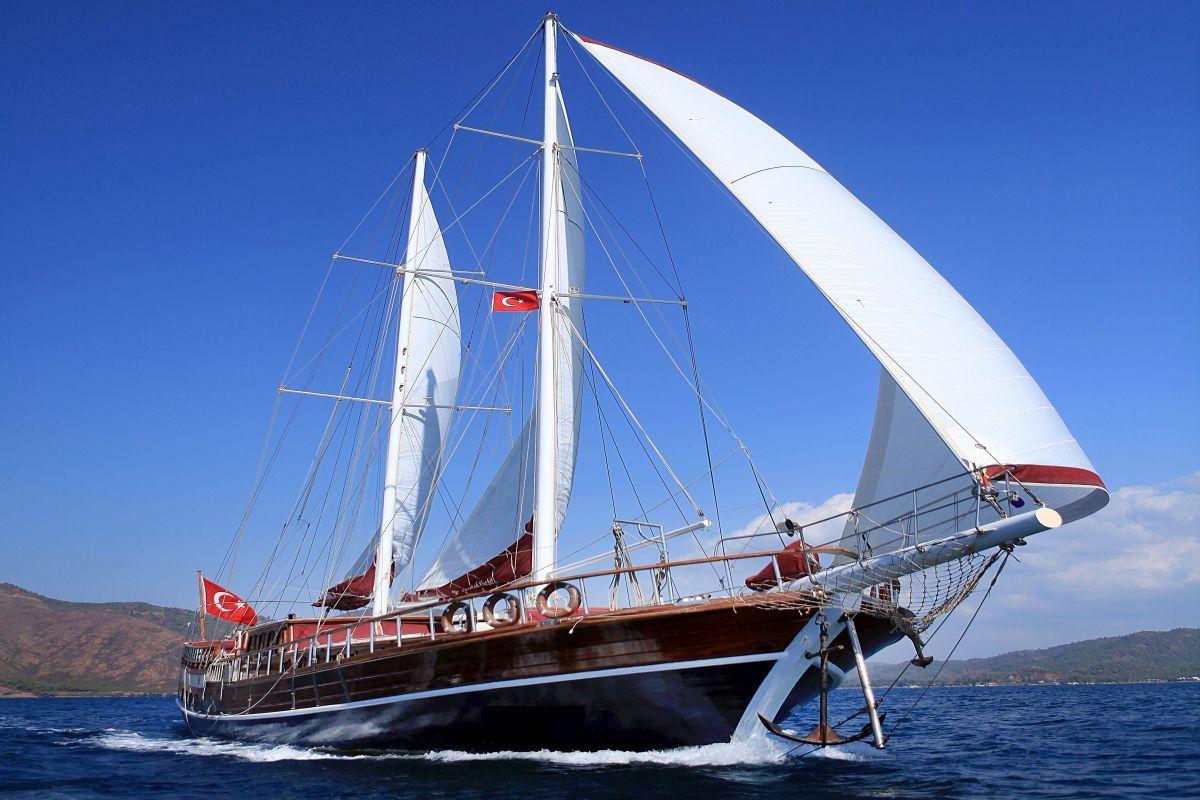 Yogavakantie op een zeilschip in Griekenland en Turkije