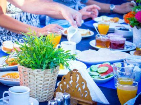 ontbijt yoga retreat in Griekenland