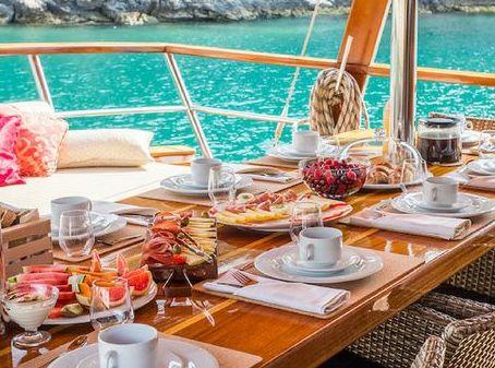 ontbijt yogavakantie in Griekenland en Turkije