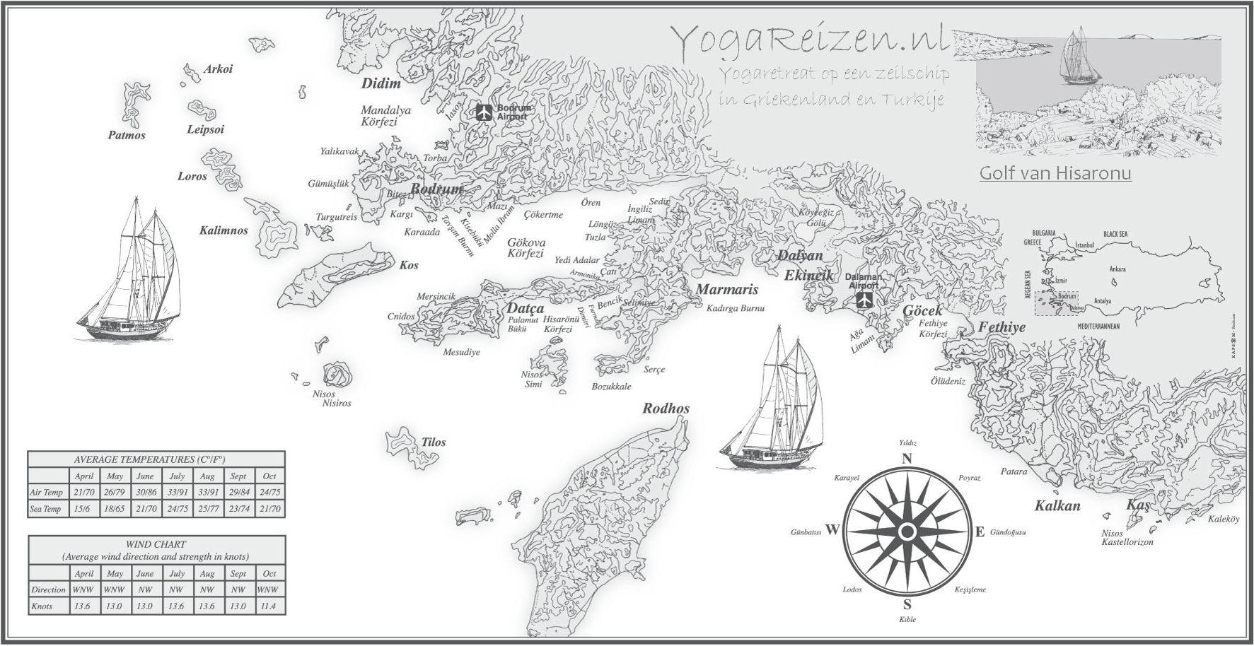 yoga retreat op een zeilschip