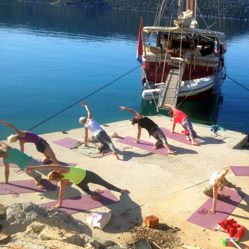 yoga op bijzondere plekken
