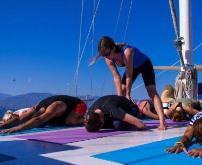 yoga retreat met yin yoga
