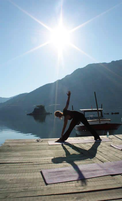 yoga vakantie inclusief vliegtickets in Griekenland