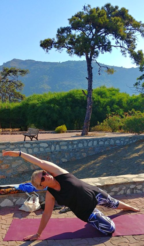 Yoga reizen griekenland